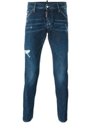 Dsquared2 Tapered Jeans Blue