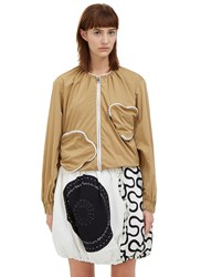 J.W.Anderson Zipped Squiggle Pocket Jacket Beige