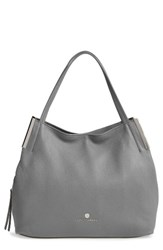 Vince Camuto 'Tina' Leather Tote Grey Smog