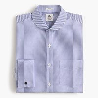 Thomas Mason For J.Crew Cutaway Collar Ludlow Shirt In Bengal Stripe River Blue