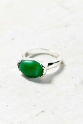 Urban Outfitters Zella Stone Ring Green