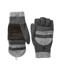 Original Penguin Convertible Mittens Dark Shadow Extreme Cold Weather Gloves Black