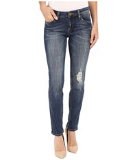 Kut From The Kloth Catherine Boyfriend Jeans In Diverge Diverge Women's Jeans Blue