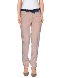Incotex Red Trousers Casual Trousers Women Pink