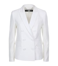 Stella Mccartney Karen Double Breasted Tuxedo Jacket Female Ivory
