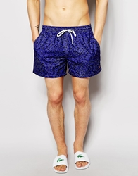 Farah Rufus Concrete Swim Shorts Blue