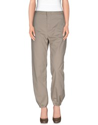 Sofie D'hoore Trousers Casual Trousers Women Light Grey