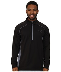 Essential Popover Puma Black Men's Long Sleeve Pullover