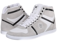 The Kooples Sport Smooth And Split Leather Sneaker