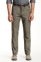 John Varvatos Skull Rivet Slim Fit Jean Green
