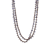 Feathered Soul Depth Wrap Necklace