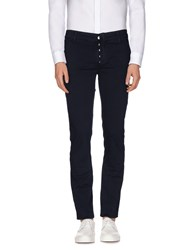 Daniele Alessandrini Homme Trousers Casual Trousers Men Dark Blue