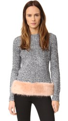 Opening Ceremony Faux Fur Pullover Desert