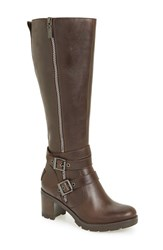 Uggr Women's Ugg 'Lana' Water Resistant Genuine Shearling Lined Leather Boot Stout Leather