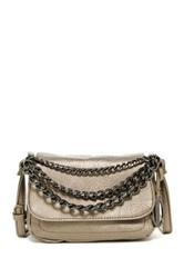 Carlos By Carlos Santana Katrina Flap Chain Crossbody Metallic