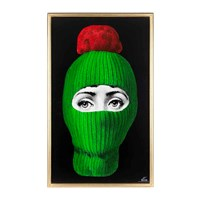Fornasetti Lux Gstaad Panel Green