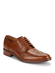 Cole Haan Madison Leather Brogue Oxfords British Tan