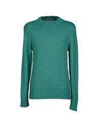 Italian Job Knitwear Turtlenecks Men Light Green