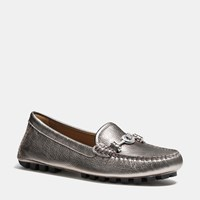 Coach Arlene Moccasin Warm Pewter
