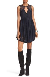 Free People Women's Don't You Dare Lace Shift Dress