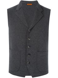 Barena Buttoned Up Waistcoat Grey