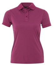 J. Lindeberg J.Lindeberg Hailey Regular Fit Polo Shirt Plum Purple
