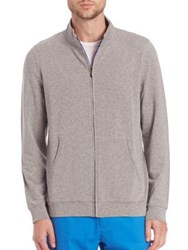 Saks Fifth Avenue French Terry Zip Sweat Jacket