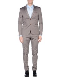 Roberto Pepe Suits And Jackets Suits Men Grey