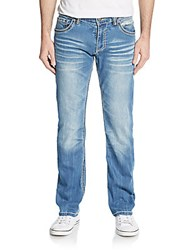 Affliction Gage Straight Leg Jeans Snowmass