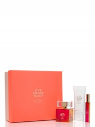Kate Spade Live Colorfully Holiday Gift Set Pink Multi