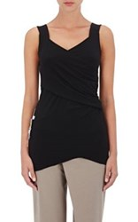 Weargrace Women's Turban Cotton Blend Tank Black