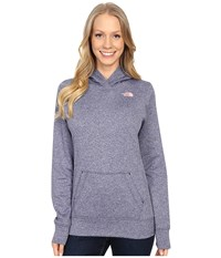 The North Face Lfc Fave Hoodie Patriot Blue Heaher Neon Peach Women's Sweatshirt