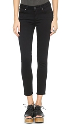 Paige Verdugo Skinny Cropped Jeans Black Shadow