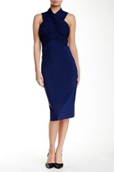 Bec And Bridge Midnight Midi Dress Blue