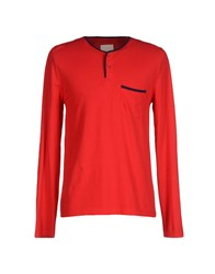 Band Of Outsiders Topwear T Shirts Men Red