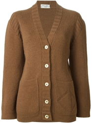 Christian Dior Vintage Chunky Knit Cardigan