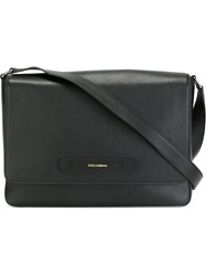 Dolce And Gabbana 'Mediterranean' Messenger Black