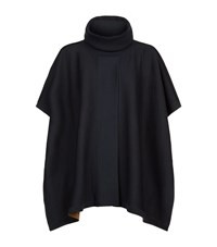 Boss Womenswear Open Front Poncho Female Navy