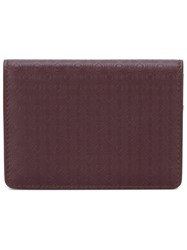 Salvatore Ferragamo Textured Square Wallet