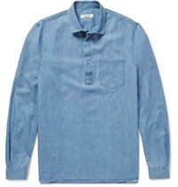 Valentino Washed Denim Shirt Blue