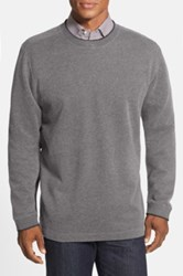 Quiksilver Rock Lagoon Pullover Knit Sweater Gray
