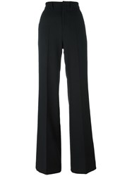 Pt01 'Alessia' Straight Leg Trousers Black