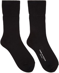 Comme Des Garcons Black Long Socks