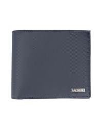Lacoste Navy Two Tone Pr Wallet Blue