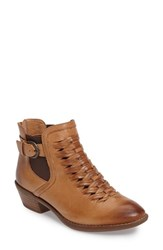 Sofft Women's Verlo Woven Chelsea Boot Cork Leather