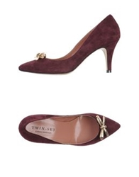 Twin Set Simona Barbieri Pumps Dark Purple