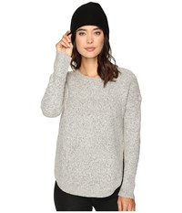 Only Bretagne Pullover Light Grey Melange Women's Clothing Gray