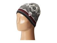 Dale Of Norway Glittertind Hat Black Off White Dark Charcoal Raspberry Caps Gray