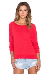 Nation Ltd. Raglan Sweatshirt Red