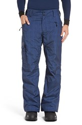 Helly Hansen Men's 'Sogn' Waterproof Primaloft Cargo Snow Pants Evening Blue Denim
